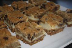 Veganeren: Chocolate chip cookie dough cream cheese bars