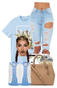 """#tropical"" by ballislife ❤ liked on Polyvore featuring MANGO, Ray-Ban and Lime Crime"