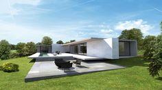 Flachdach Häuser - 9 Beispiele für jeden Geschmack | Belle, Modern ...