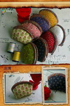 米花布趣yuki手作-彩虹的約定零錢包