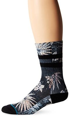 78ecb8143254b Stance Mens Frigate Classic Crew Sock Black Large   Visit the image link  more details. Note It is affiliate link to Amazon.  twitch