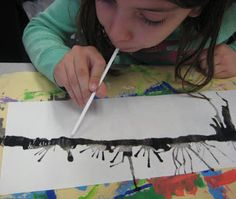 grade learned about Japanese Cherry Blossoms- I showed them images of woodblock prints and we found the cherry blossom trees within the. Kindergarten Art, Preschool Art, Preschool Themes, Blossom Trees, Cherry Blossoms, Japanese Party, Cherry Blossom Painting, Japanese Symbol, 2nd Grade Art