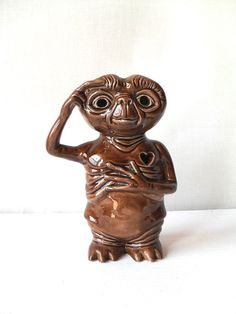 Vintage ET Ceramic Sculpture Light by FlyingAce on Etsy, $25.00