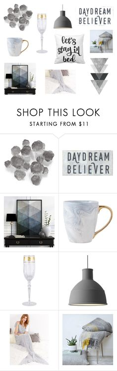 """Untitled #11"" by trsca on Polyvore featuring interior, interiors, interior design, home, home decor, interior decorating, Palecek, Rosenthal and Muuto"