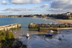 Our beloved Newquay Harbour, situated directly below The Atlantic Hotel...2 mins walk.