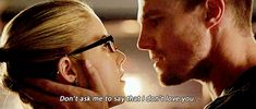 Pin for Later: All the Times Arrow's Oliver and Felicity Made Your Heart Physically Ache THIS MOMENT.