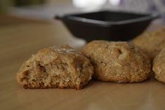 Tahini, Banana Bread, Muffin, Cookies, Breakfast, Desserts, Food, Crack Crackers, Morning Coffee