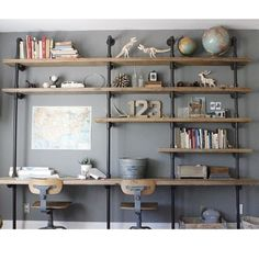 my absolute favorite shelving that I cannot wait to do to.