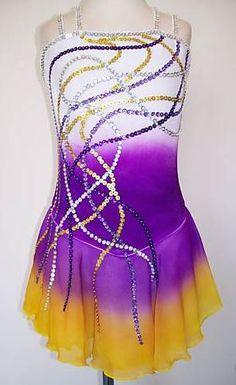 Ice Roller Figure Skating Dress Baton Twirling Leotard Tap Dance Made to Fit | eBay