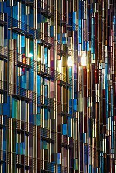 Colorful Glass #architecture ☮k☮