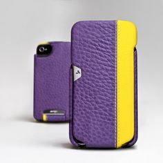 iPhone 4/4S Case Purple/Yellow now featured on Fab.