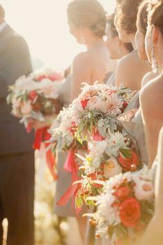 Wedding in the sun ...