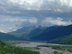 Toutle River Valley near Mount St Helens #mtsthelens