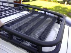 So I have been seriously considering a modification or replacing my stock roof rack situation for quite some time. My wife and I have 3 larger breed dogs. Fj Cruiser Off Road, Fj Cruiser Parts, Fj Cruiser Mods, Fj Cruiser Forum, Toyota Fj Cruiser, Land Cruiser, Fj Cruiser Accessories, Truck Accessories, Ford F150 Custom