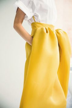 DELPOZO Spring / Summer 2014 collection shown at New York Fashion Week / Ann Street Studio