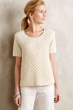 Cloud Cover Boucle Pullover #anthropologie