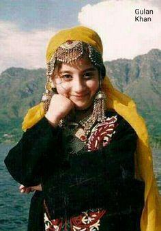 So beautiful & cute Kashmiri girl,With traditional Kashmiri dress & jewellery,Azad Kashmir Pakistan
