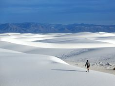 White Sands National Monument, New Mexico - sunsinger/Shutterstock White Sands National Monument, Smoky Mountain National Park, Carlsbad Caverns National Park, Beautiful Vacation Spots, Beautiful Places, El Yunque National Forest, Indiana Dunes, Kenai Fjords, Hawaii Volcanoes National Park