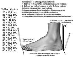 Tabla para realizar zapatos tejidos