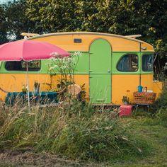De gepimpte caravan