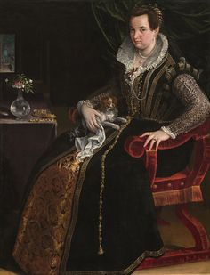 Portrait of Costanza Alidosi by Lavinia Fontana| National Museum of Women in the Arts | Washington