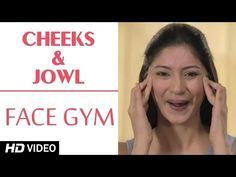 Face Gym - Cheeks & Jowl HD | Asha Bachanni - YouTube