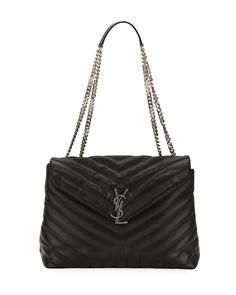 2bf16fb389a6 Saint Laurent Loulou Monogram Medium Chain Bag