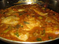 Domestic Divas Blog: Simple Suppers: Moroccan-Style Red Snapper Tagine (Fish Stew)