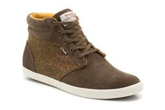 Mens Sports Boots - Torbay Point in Khaki Suede from Clarks shoes