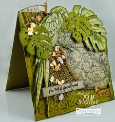 Created by Pam Hornschu with Stampendous and Dreamweaver. #cre8time #stampendous