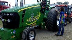 10 Unlimited Super Stock Alcohol Pulling Tractors