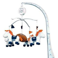 Denver Broncos Baby Mobile