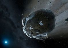 "As you may have heard, there is an asteroid headed our way this Halloween.  The object  in question is known as 2015 TB145. It has been nicknamed ""Spooky"" by some media outlets in honor of its October 31st arrival. At the present juncture, it is hurtling towards Earth at rather impressive speeds; however, that ""towards"" does not mean that it is literally on a collision course.TB145's path starting at 4 hours UT on Oct. 31 (11 p.m. CDT Oct. 30). Credit: Chris Marriott's SkyMap"