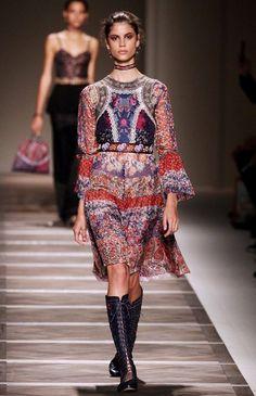 3b520d74aaaf Boho prints at Etro Bohemian Style Dresses