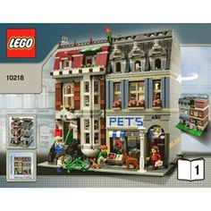 LEGO Pet Shop Set 10218 Instructions Brick Owl: great site with instructions etc for Lego