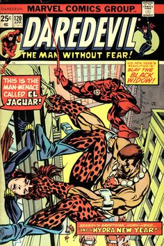 Daredevil #120 cover by Gil Kane
