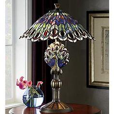 lamp light den kitchen bedroom desk end table tiffany lamps for sale. Black Bedroom Furniture Sets. Home Design Ideas