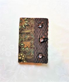 d1c8699bd Passport Travel Wallet for Women - Passport Holder - Brown Floral Passport  Cover - Gift for Travelers - Graduation Gift - Travel Accessory