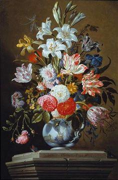 Jacob Marrel Flower Still Life 1665.