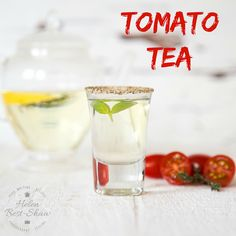 """This unusual, but refreshing """"tea"""" is richly flavoured with tomato and super simple to make"""