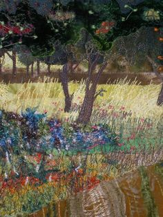 Alison King | Textile Study Group Machine embroidery