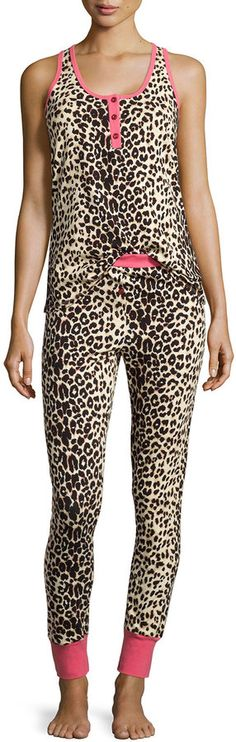 9aa3328744 Bedhead Wild Thing Sleeveless Henley Pajama Set