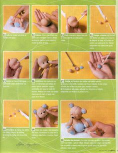 STEP BY STEP BEAR PART N°2.