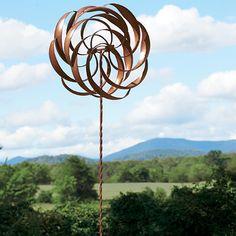 Perfect Kinetic Garden Art   Contemporary   Garden Sculptures   Monticello