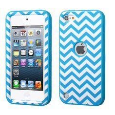 MYBAT VERGE Hybrid iPod Touch 5th / 6th Gen Case - Blue Chevron