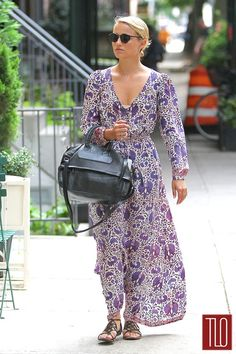 Dianna Agron in Natalie Martin in the East Village in New York City | Tom & Lorenzo Fabulous & Opinionated