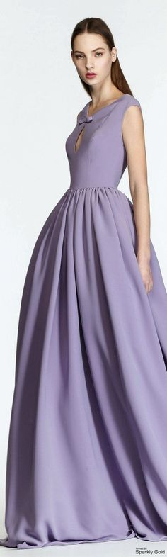 Georges Hobeika F/W 2015-2016 - lovely lavender takes center stage with this…