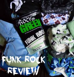 Rockin Green Funk Rock Ammonia Bouncer #review #clothdiapers #laundry #baby Also great for pet odors!