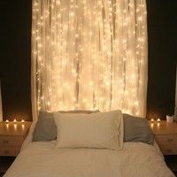 For teen girls room, use diffrent color curtains.