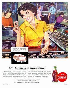 Coca-Cola (Ela é Brasileira) - Anos 50